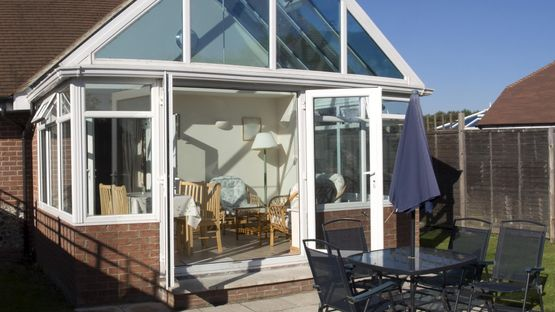 A classic styled conservatory